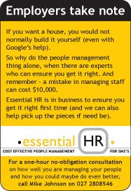 HR problems? Call essential HR