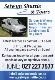 Shuttle taxi and transport service in Rolleston